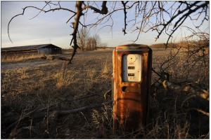 Platte County 86--Gas Pump and airstrip