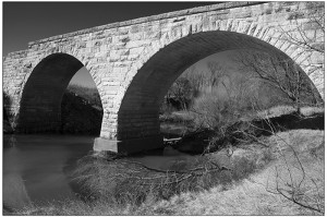 Chase County 7--Clements stone arch bridge