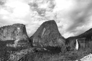 YosemiteCloudsoverBroderickLibertyCapFalls